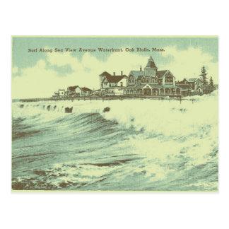 Martha's Vineyard-Meer Postkarte