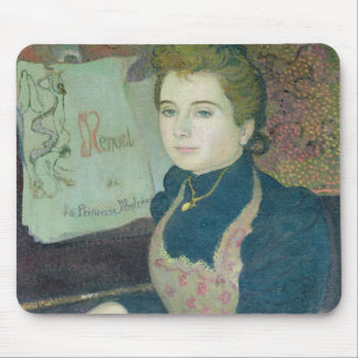 Marthe am Klavier, 1891 Mauspads