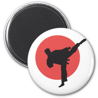 martial arts runder magnet 5,1 cm