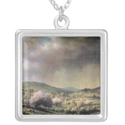 Martin Johnson Heade - Frühlingsregen das Tal von  Halsketten