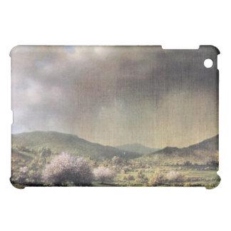 Martin Johnson Heade - Frühlingsregen das Tal von iPad Mini Hüllen