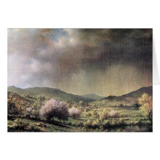 Martin Johnson Heade - Frühlingsregen das Tal von  Karten