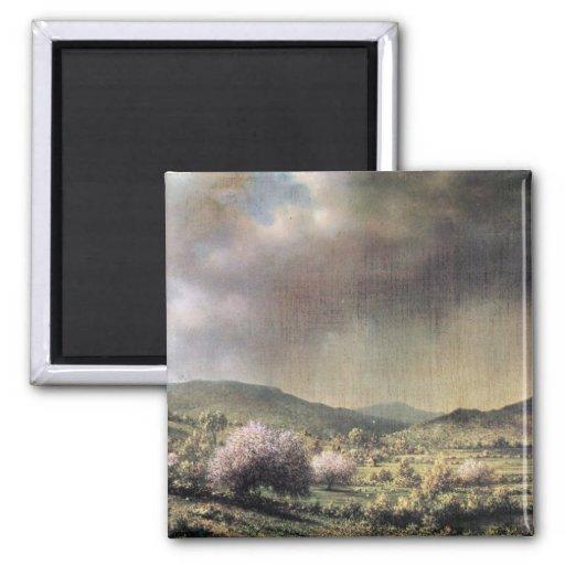 Martin Johnson Heade - Frühlingsregen das Tal von  Magnete