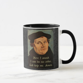 Martin Luther hier stehe ich Zitat Tasse