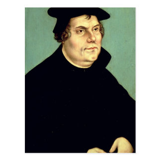 Martin Luther Postkarte