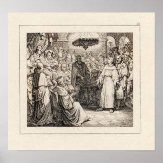 Martin Luther vor der Diät der Würmer Plakatdrucke