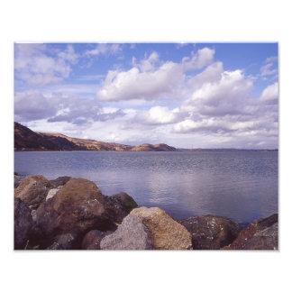 Martinez-Küstenlinie Fotodruck
