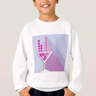 Martini abstrakt sweatshirt