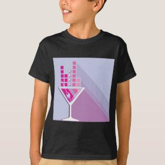 Martini abstrakt T-Shirt