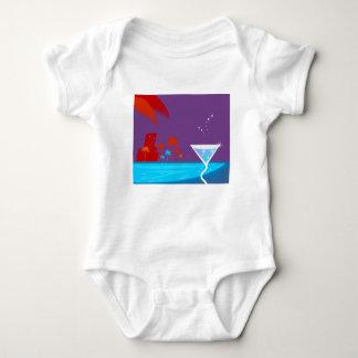 Martini-Entwurf Baby Strampler