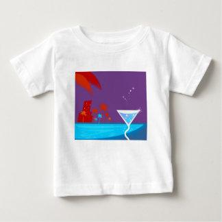Martini-Entwurf Baby T-shirt
