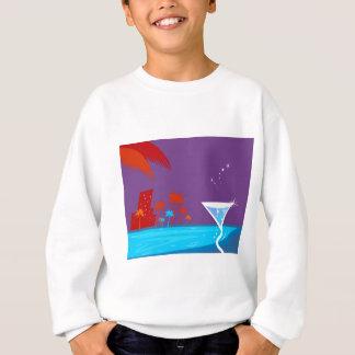 Martini-Entwurf Sweatshirt