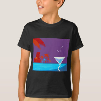 Martini-Entwurf T-Shirt
