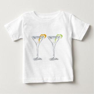 Martini-Getränk-Skizze Baby T-shirt