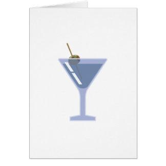 Martini-Glas Karte