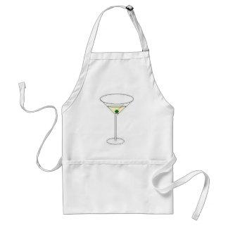Martini-Glas Schürze