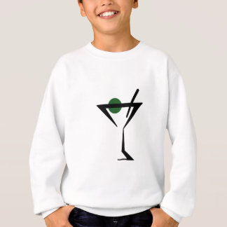 Martini-Glas Sweatshirt