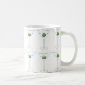 Martini mit Oliven Kaffeetasse