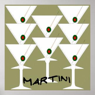 Martini-Plakat-Druck