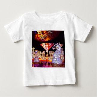 Martini-Schach Baby T-shirt
