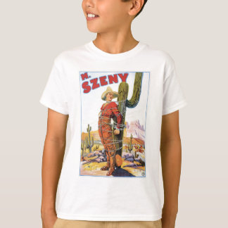Martini Szeny ~ Vintages Cowboy-Wunder-magische T-Shirt