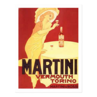 Martini-Wermut Torino Postkarten