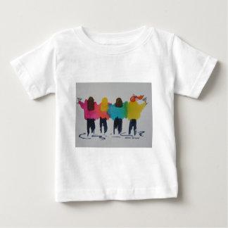 """Martini Zeit """"die Freundinnen """" Baby T-shirt"""
