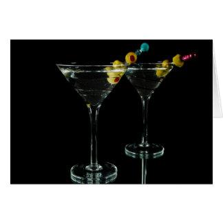 Martini-Zeit Karte