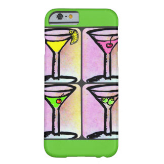 MARTINI-ZEIT-PASTELL BARELY THERE iPhone 6 HÜLLE