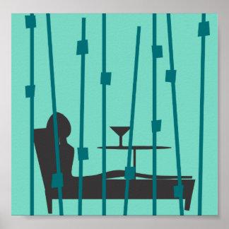 Martini-Zeit Poster