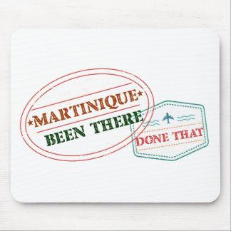 Martinique dort getan dem mousepad