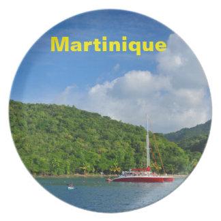 Martinique Melaminteller