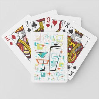Martinis Gehen-Gehen Spielkarten