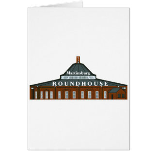 Martinsburg Roundhouse Karte