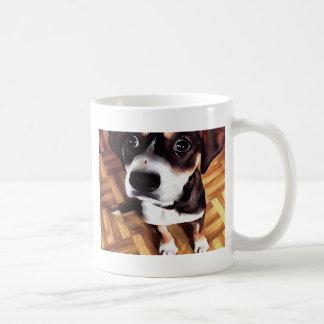 Marty der Soulful mit Augen Hund Kaffeetasse