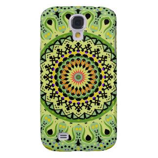 Marty Kaleidoskop-Vintage Grüntöne Galaxy S4 Hülle