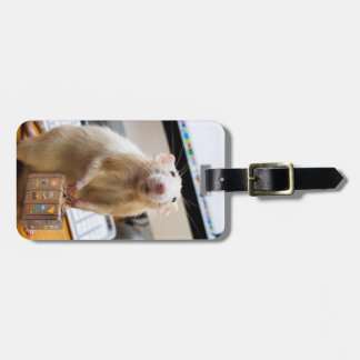Marty Maus bereit zur Reise!  (Gepäckanhänger) Kofferanhänger