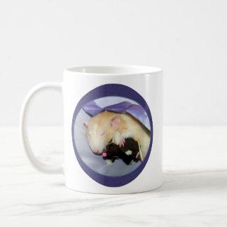 Marty MäuseTasse (Ratte, die mit Teddy-Bären Kaffeetasse