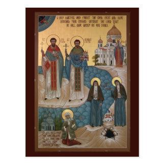 Märtyrer und Dummköpfe für Christus-Gebets-Karte Postkarte