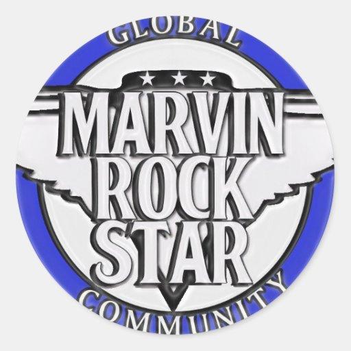 Marvin community zu sticker rockstar global