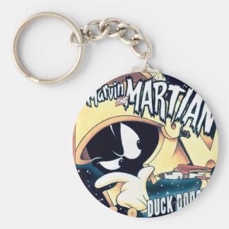 Marvin, Daffy and Elmer Keychain