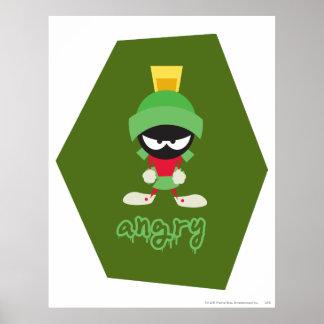 Marvin das Marssuperwütende Plakatdrucke