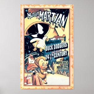 MARVIN DAS MARTIAN™, DAS DÄMLICHE DUCK™ und der Poster