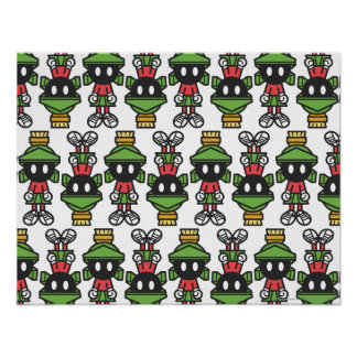 MARVIN das MARTIAN™ Tilings-Muster Poster