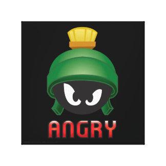 MARVIN das MARTIAN™ verärgertes Emoji Leinwanddruck