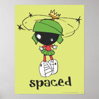 Marvin der Marsmensch gesperrt Plakatdrucke