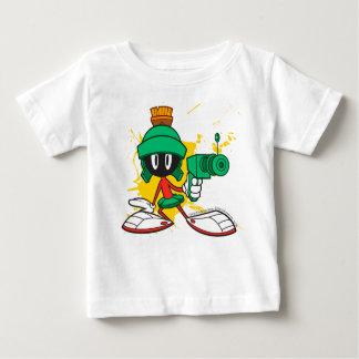 Marvin mit Gewehr Baby T-shirt