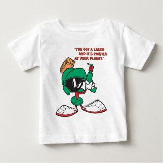 Marvin mit Laser oben gezeigt Baby T-shirt