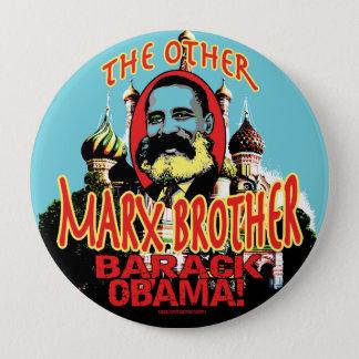 Marx-Bruderantiobama-Shirt Runder Button 10,2 Cm