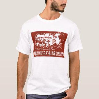 Marx, Engels, Lenin, Stalin und Mao T-Shirt